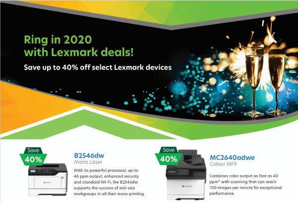 January Lexmark Printer Specials
