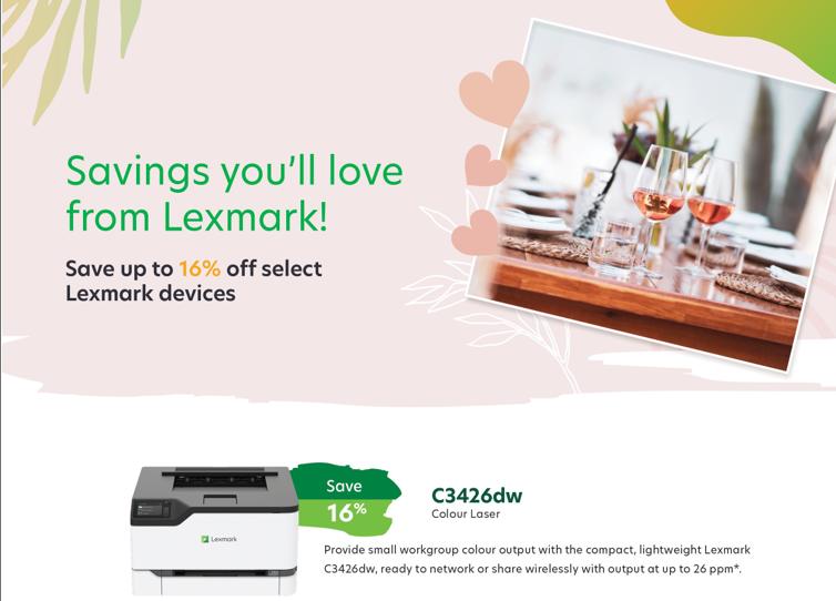 February Lexmark Specials
