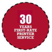 30 Years First Rate Printer Service