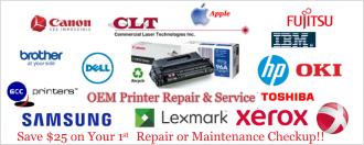 Printer Repair and Service