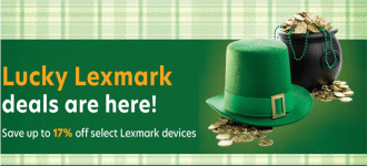February Lexmark Printer Specials